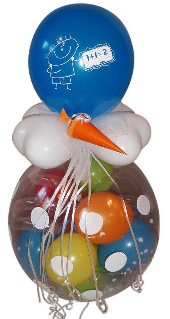 Geschenk Ballon Schulanfang Einschulung Geschenk Luftballon