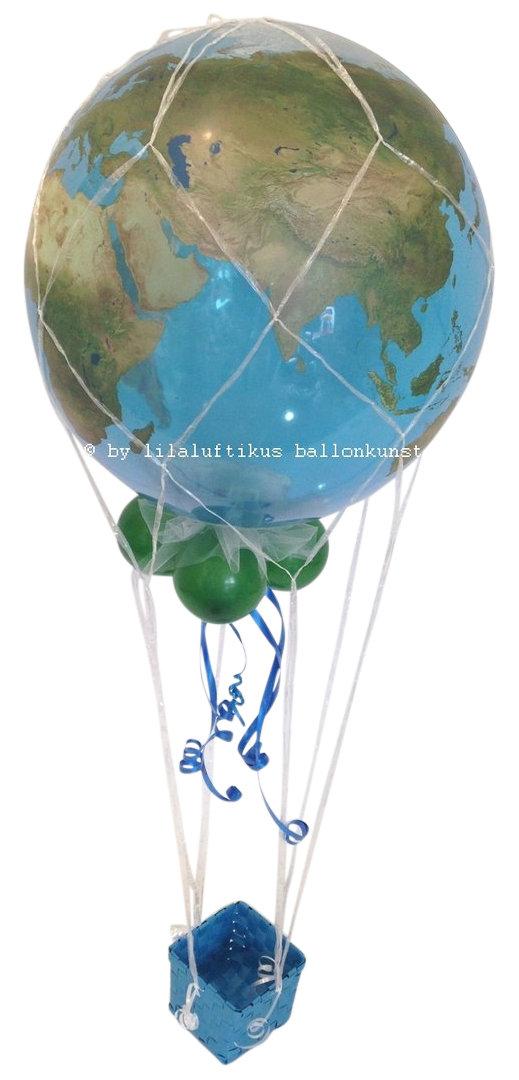 Fesselballon Heiluftballon Urlaub Reise Geldgeschenk