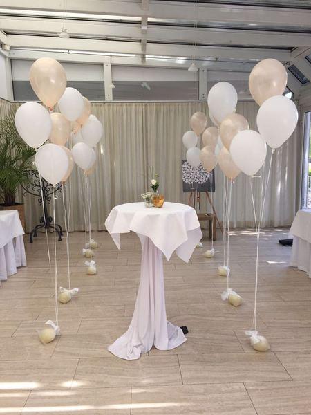 Galerie Hochzeitsdekorationen  BallonMobil