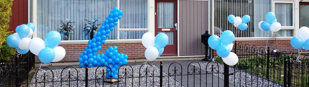 Ballonnendecoratie specials - getal