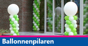 ballonnendecoratie ballonnenpilaren