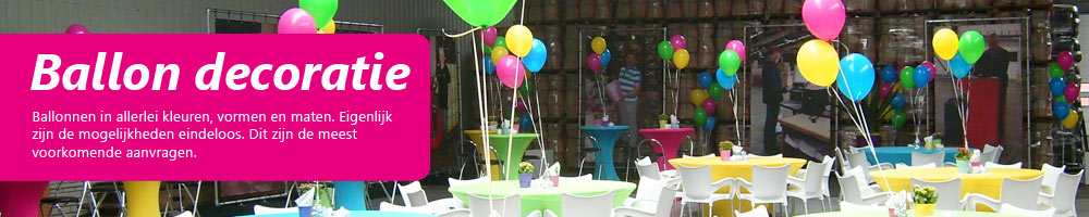 Ballonnendecoratie
