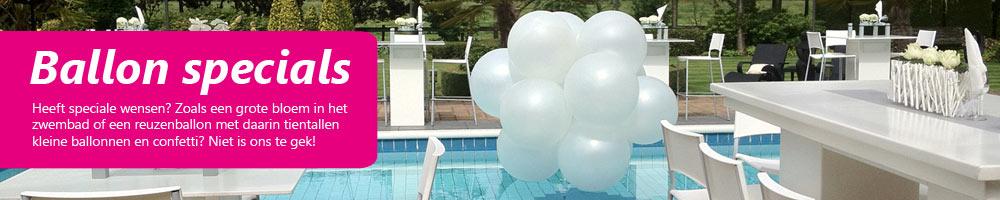 Ballonnendecoratie specials