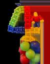 Ballondecoratie LEGO 4