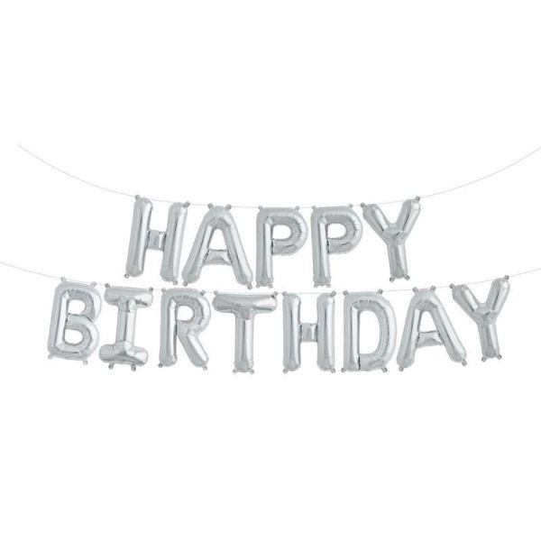 ballons kit happy birthday alu
