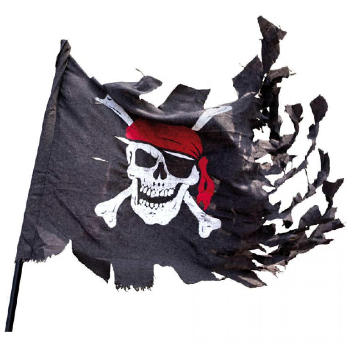 Drapeau Pavillon Pirate Dchir