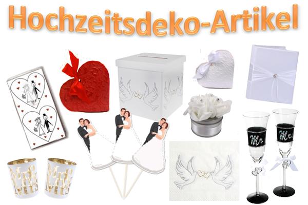 HochzeitsdekoArtikel  Dekoration Hochzeit  Hochzeit