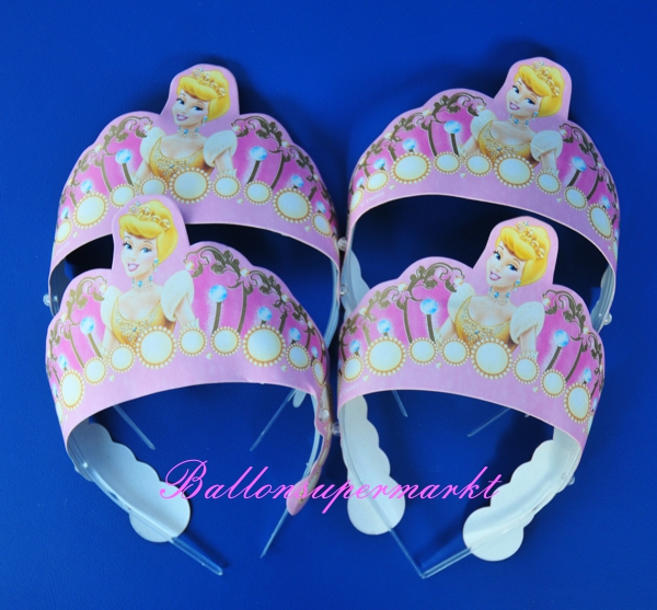 Kronen Diademe Disney Princess Partydekoration