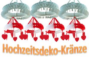 BallonsupermarktOnlineshopde  Dekorationskrnze Liebe