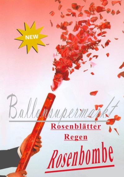 BallonsupermarktOnlineshopde  Rosenbltter Regen