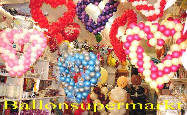 HochzeitsdekoHerzenausLuftballons