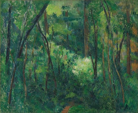 Paul_Cézanne_-_Interior_of_a_forest_-_Google_Art_Project