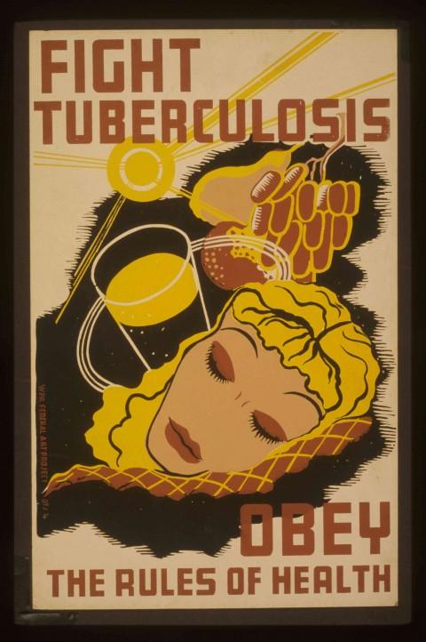 WPA_Tuberculosis_poster_-_original
