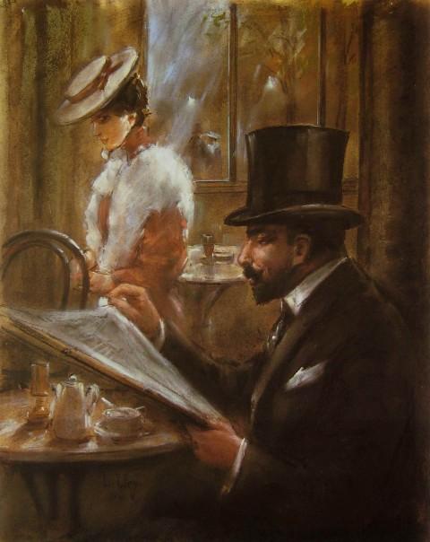 Lesser_Ury_Im_Cafe_Bauer_1898