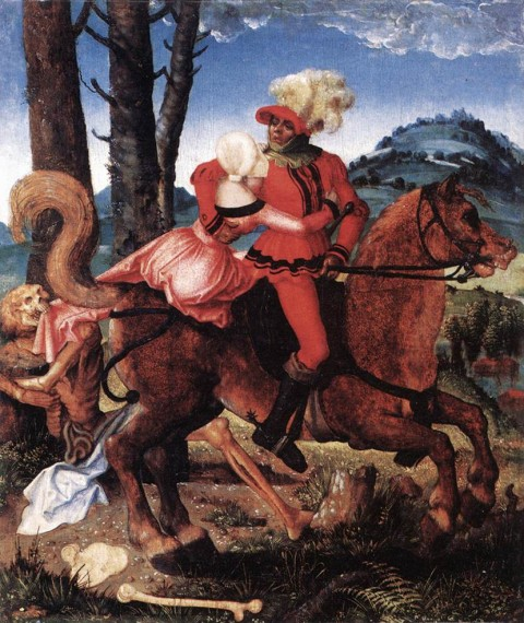 Hans_Baldung_-_The_Knight,_the_Young_Girl,_and_Death_-_WGA01179