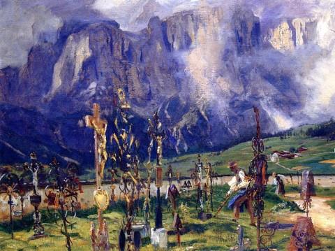 Graveyard_in_the_Tyrol_1914-1915_JS_Sargent