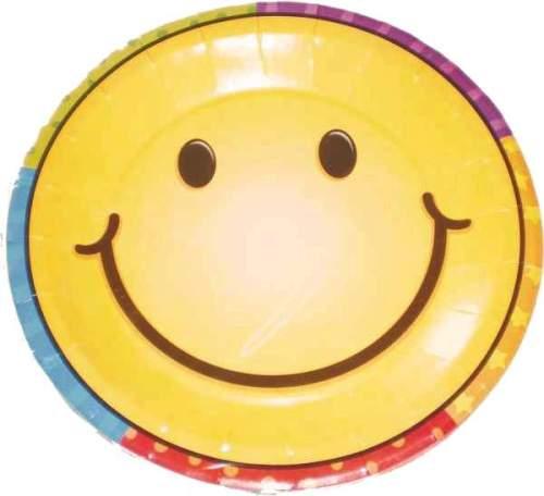 Πιατάκια μικρά Smiley Face (8 τεμ)