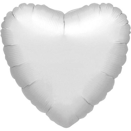"""Μπαλόνι καρδια Ασημί 32"""""""
