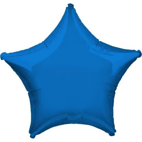 """Μπαλόνι αστερι 32"""" Μπλε"""