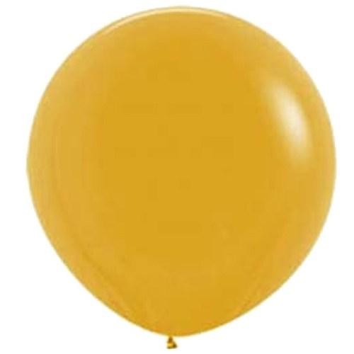 90cm - 36'' Χρυσαφί μεγάλο μπαλόνι
