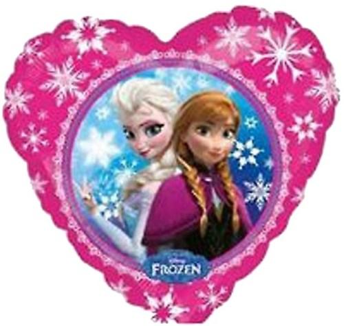 Μπαλόνι Frozen Elsa & Anna καρδιά