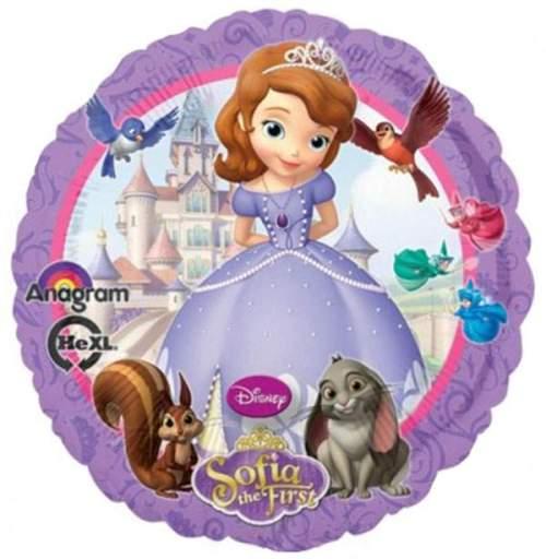 Μπαλόνι Πριγκίπισσα Σοφία στρογγυλό