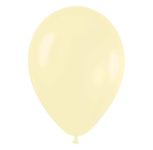 9'' Παστέλ Ιβουάρ λάτεξ μπαλόνι