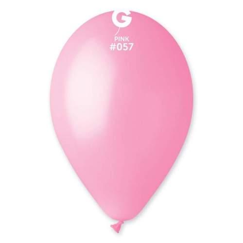 9'' Ροζ λάτεξ μπαλόνι
