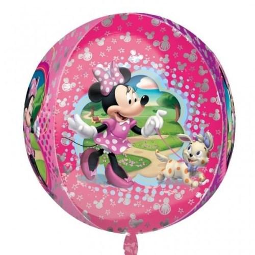 Mπαλονι Minnie Mouse με σκυλάκι ORBZ