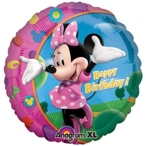 Μπαλόνι για γενέθλια Minnie Happy Birthday