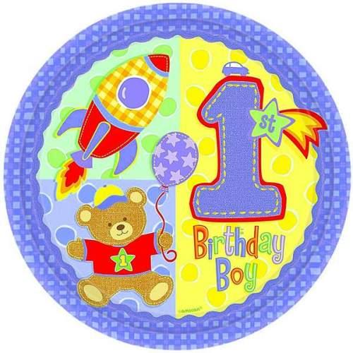 Μπαλόνι για γενέθλια '1st Birthday Boy'