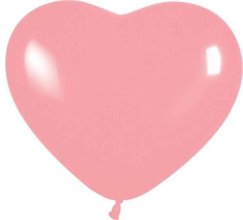 Μπαλόνι καρδιά ροζ