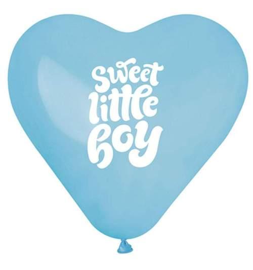 Μπαλόνι τυπωμένο Καρδιά Sweet Little Boy