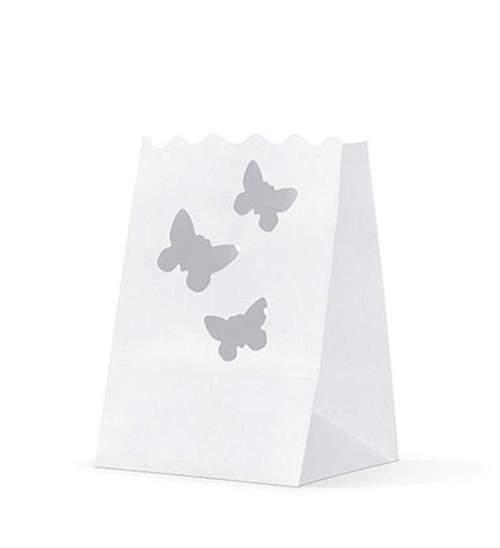 Χάρτινο μικρό φαναράκι για κεράκια (πεταλούδες)