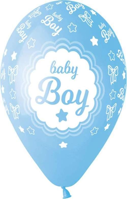 Μπαλόνι τυπωμένο Baby Boy αστεράκια