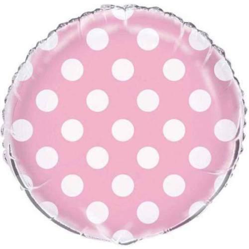Μπαλόνι ροζ πουά