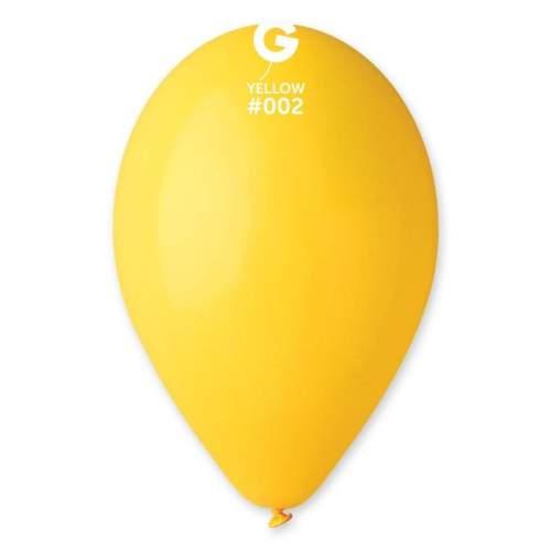 9'' Κίτρινο λάτεξ μπαλόνι