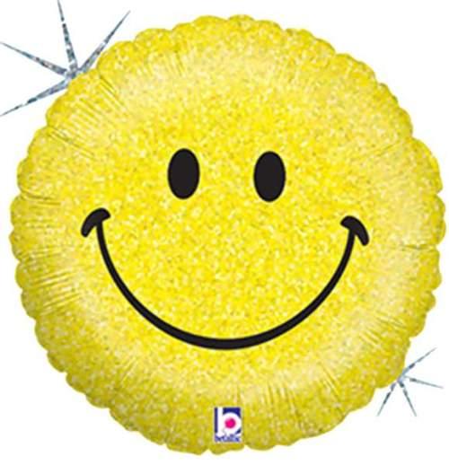 Μπαλόνι Smile Face που ιριδίζει