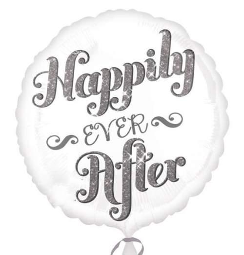 Μπαλόνι Happily Ever After ιριδίζον