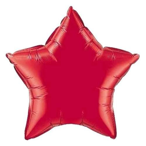 """Μπαλόνι Αστέρι 18"""" Κόκκινο"""