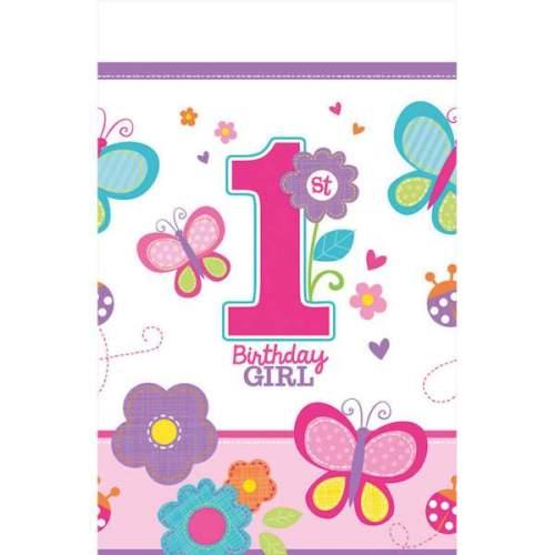 Τραπεζομάντηλο 1st Birthday Girl