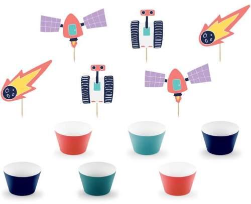 Σετ για cupcake Διάστημα (12 τεμ)