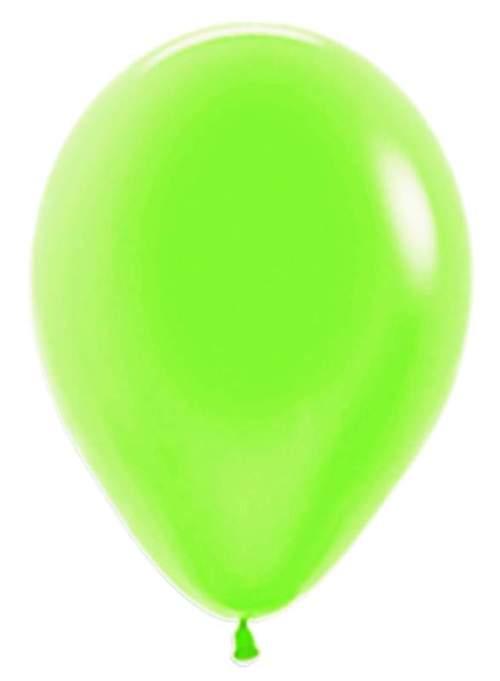 12'' Neon Πράσινο λάτεξ μπαλόνι