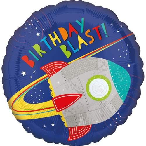 Μπαλόνι για γενέθλια διάστημα Birthday Blast