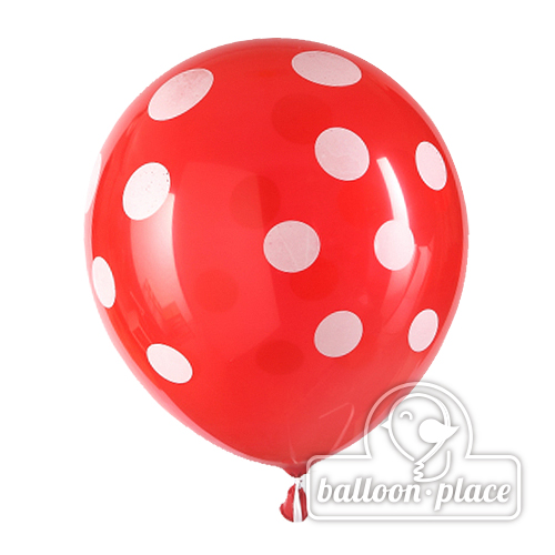 Latex 圓型珠光氫氣球- 波點氣球 - BALLOON.PLACE 氫氣球專門店