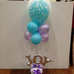 Bubble Chair On Stand Pictures Of Covers And Sashes Balloon In A Topiary With Name