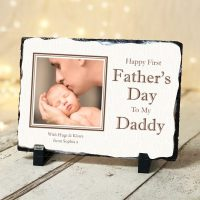 Fathers Day Personalised Photo Slate