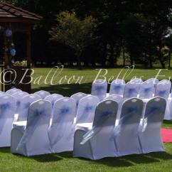 Chair Cover And Sash Hire Essex White For Bedroom Balloon Belles