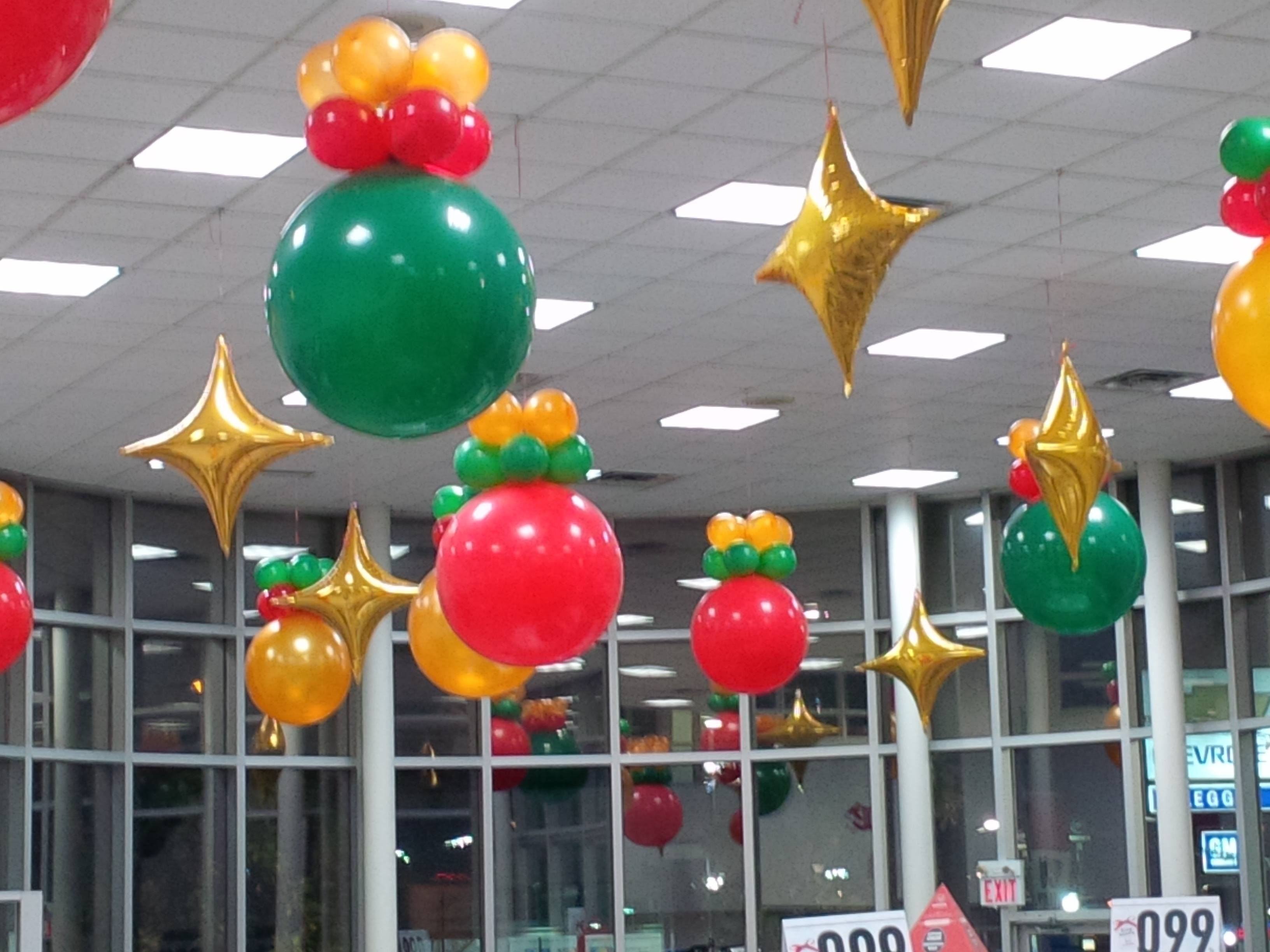 Balloon Ceiling Party Decorations Celebrations Tops In
