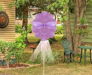 Outdoor Birthday Party Balloon Decoration  Balloon